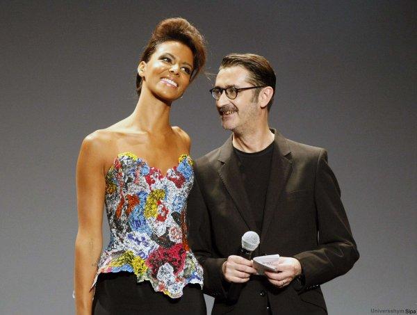 | Fashion Week • Shy'm au défilé de Franck Sorbier le 04.07.12 au Théâtre Antoine • Partie 2 |