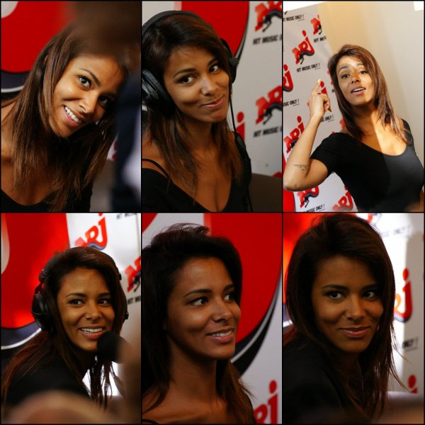 [ Nrj Nantes • Shy'm @ Delight Café • Photos de Frédérique.G Sublime ♥ ]