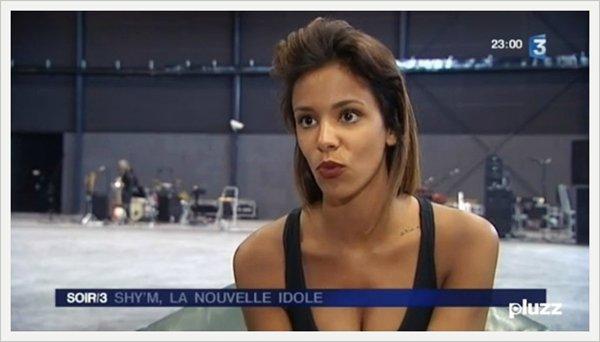 [ Petit reportage sur Shy'm dans le Soir 3 d'hier • France 3 • Cliquez sur l'image pour voir le replay (à partir de 20min') ]