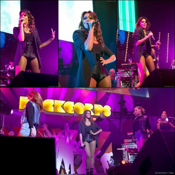 Shy'm • Concert Orange RockCorps au Zénith de Paris • 12 juillet