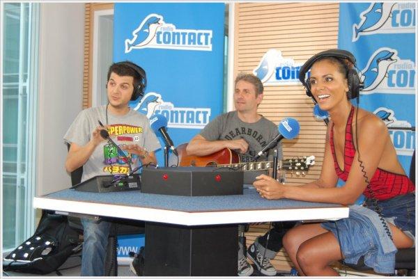 [ Promo en Belgique • Shy'm était en direct sur Radio Contact cet après-midi. Interview, lives acoustiques... ]