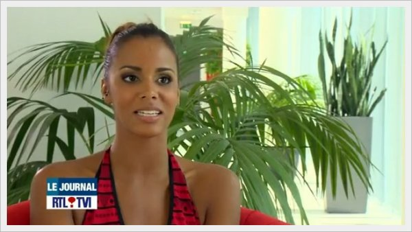 ||| Shy'm • Reportage dans le JT de RTL TVI (Chaîne belge) |||