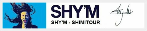 ||| #ShimiTour • Nouvelle date ! Shy'm sera à Gap le 5 décembre 2012 |||