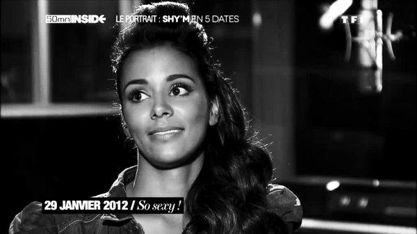 ||| Shy'm • 50 minutes Inside • 5 dates qui ont marquées sa vie • Vidéo + caps |||