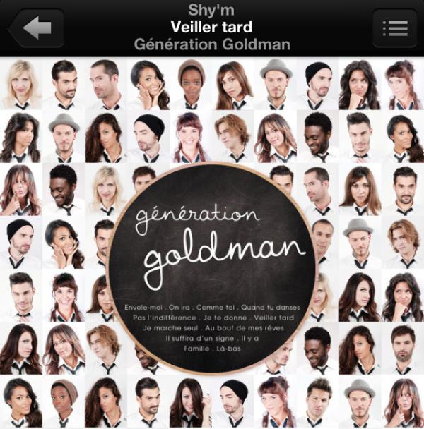 """ALBUM """"GENERATION GOLDMAN"""" • TÉLÉCHARGEZ LA REPRISE DE SHY'M : """"VEILLER TARD"""""""