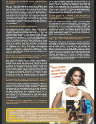 Interview de Shy'm pour le mag TribuMove