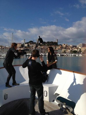 [ Shy'm était sur Nrj ce matin en direct de Cannes • Podcast & photos ]