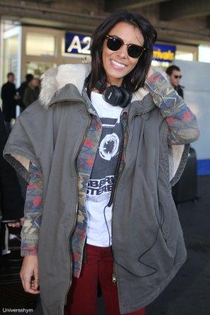 [ Nrj Music Awards 2013 • Arrivée de Shy'm à l'aéroport de Nice • Photos HQ ]