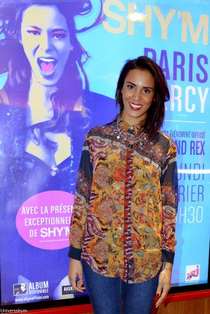 [ Les photos HQ de Shy'm au Grand Rex lundi soir ]