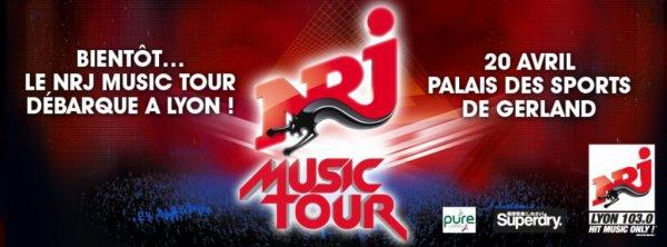 ~ SHY'M SERA PRÉSENTE AU NRJ MUSIC TOUR DE LYON LE 20 AVRIL PROCHAIN ~