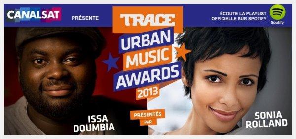Shy'm est nominée pour les Trace Urban Music Awards 2013 !