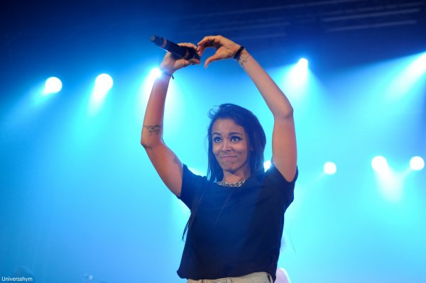 [ Shy'm • Nrj Music Tour à Lyon • + 8 photos HQ ]