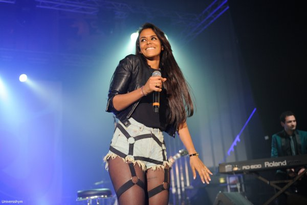 [ Shy'm • Nrj Music Tour à Lyon • + 8 photos HQ ]