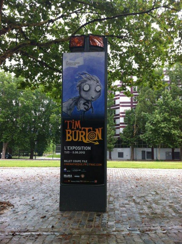 Exposition Tim Burton à la cinémathèque