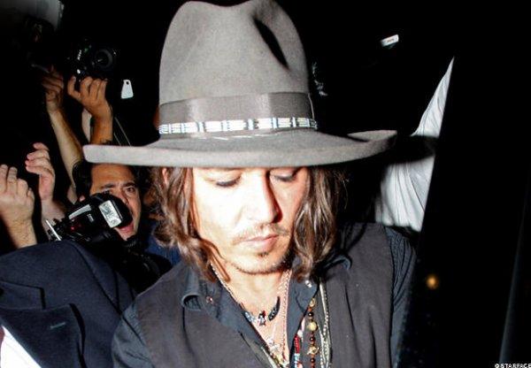 Johnny à nouveau en public