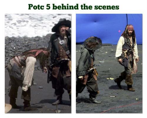 POTC5 Behind The Scene
