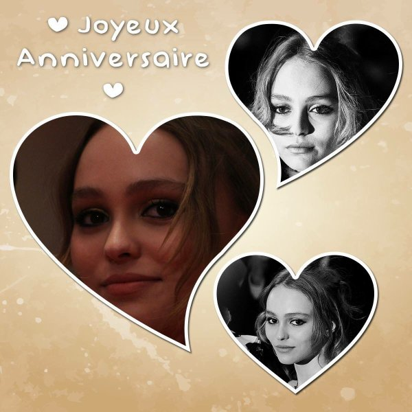Joyeux Anniversaire Lily Rose Depp 🎉
