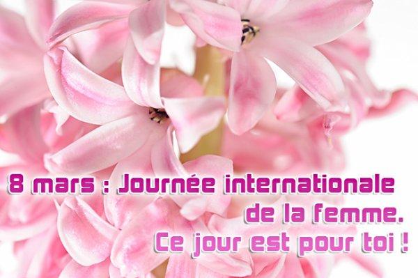 8 mars journée international de la femme , bonne fête a vous toutes