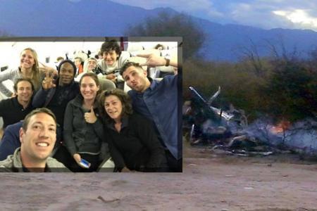 """Le tournage de """"Dropped"""" (TF1) tourne au drame en Argentine: voici la première vidéo amateur du crash"""