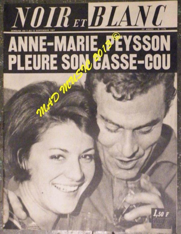 ANNE-MARIE PEYSSON, GRANDE DAME DE L'ORTF, NATIVE DU DÉVOLUY, EST DÉCÉDÉE