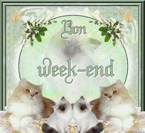 Bon weekend a vous toutes et tous mes amies et amis bisous