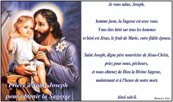 bon dimanche de Saint Joseph a vous toutes et tous mes amies et amis bisous