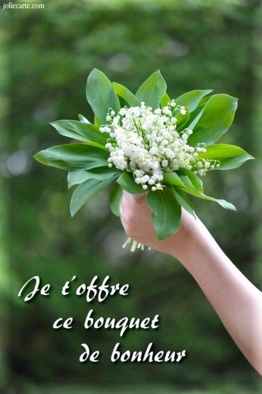 Bon weekend du  1er mai a vous toutes et tous mes amies et amis bisous