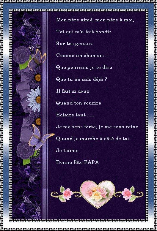 Bonne fête des pères a touts les papas de France et du monde