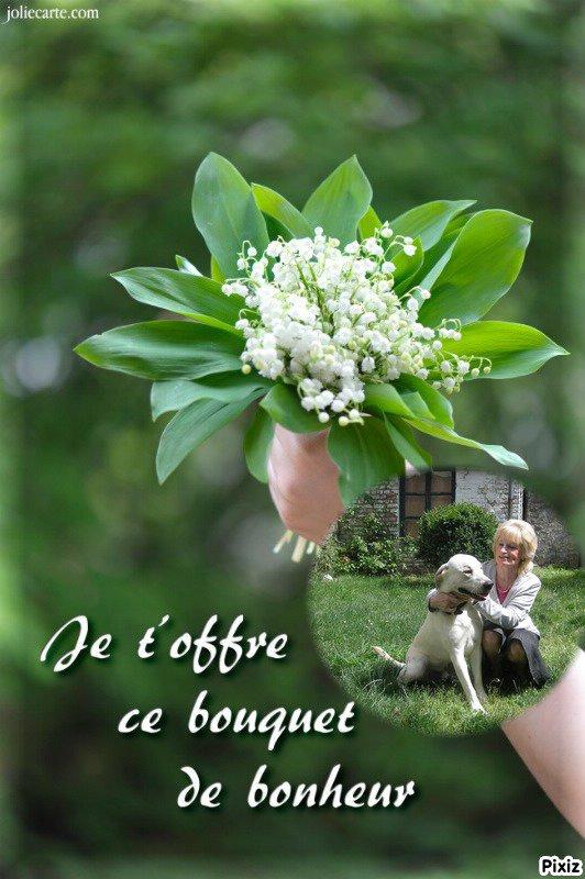 bon mois de mai a vous toutes et tous mes amies et amis