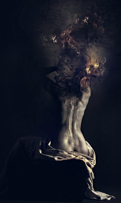 La vie est un tourbillon d'idées noires ...