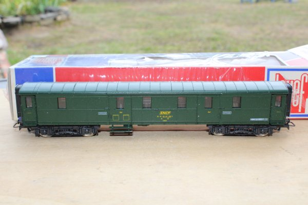 JOUEF 5123 SNCF FOURGON A BAGAGES EX DRG HO