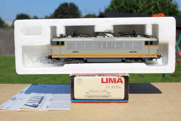 LIMA 208176L SNCF LOCOMOTIVE ÉLECTRIQUE BB8596 HO