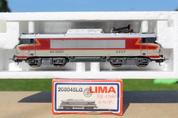 LIMA 208045LG SNCF LOCOMOTIVE ÉLECTRIQUE BB15045 HO