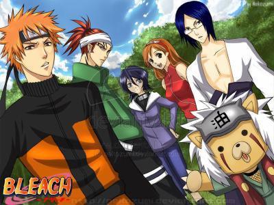 Bleach /Versus/ Naruto