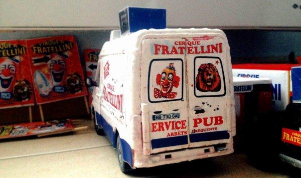 Fratellini refait la déco est repart bientôt en tournée...