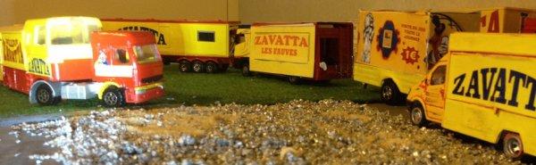 Départ du cirque Zavatta