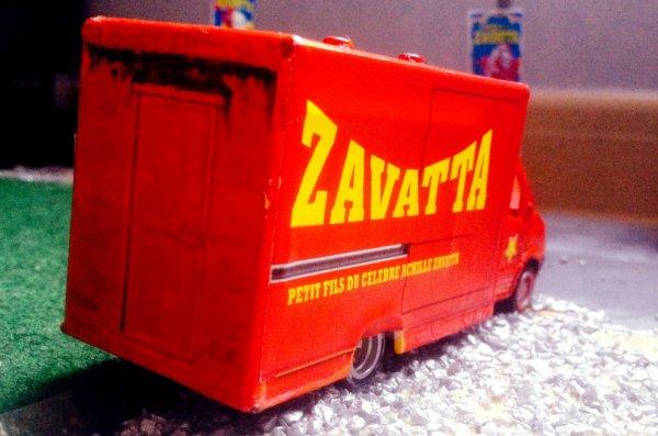 L'Un des camions publicitaire