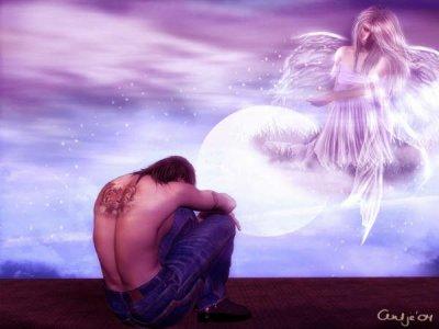 Pour un ange qui m'enlace, j'aime ton audace, tu me mank