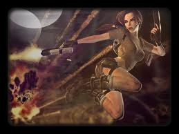 La Vie Professionnel de Lara Croft