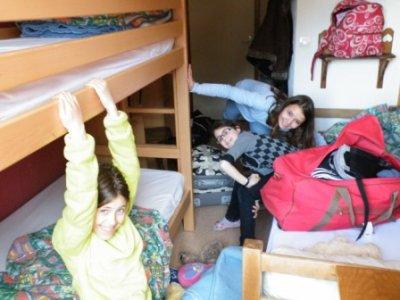 moi dans la chambre où j'étais loger