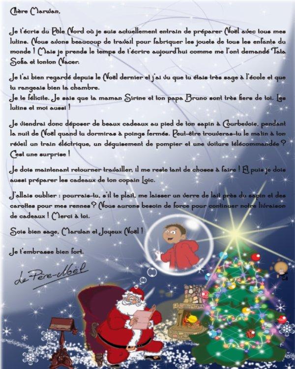 Lettre De Reponse Au Pere Noel.Un Exemple De La Reponse Du Pere Noel A Un Enfant Rien Ne