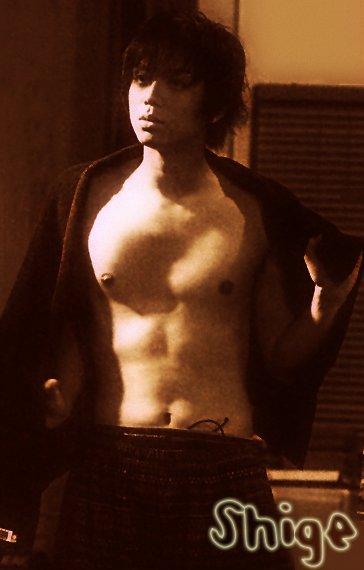 Méchant Shige qu'il est trop beau