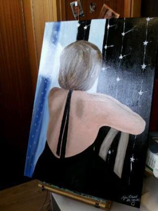 portrait peint le 26/02/2013