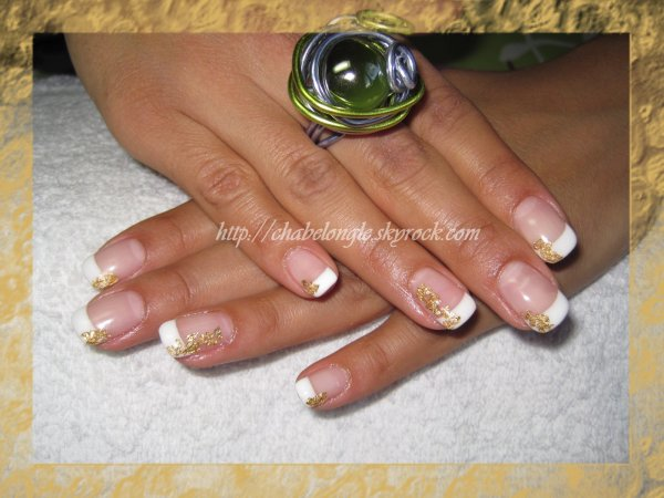 deco ongle gel or