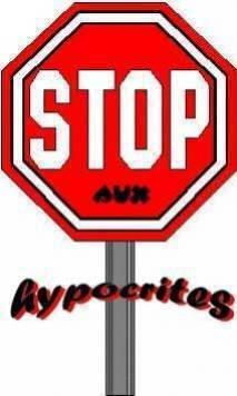 pour les gens qui dise que je suis   d'hypocrite
