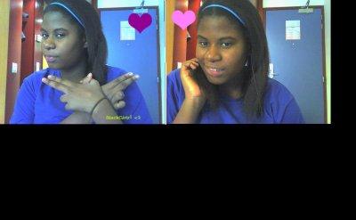 Black girl! ;)