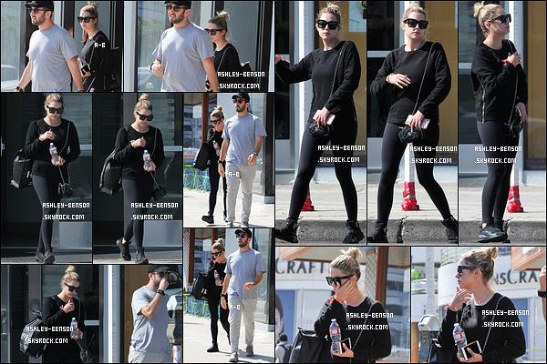 30/08/16 : Notre blondinette préférée a été aperçue quittant une salle de sport dans West Hollywood. Elle était accompagnée d'un ami. Concernant la tenue, c'est une de sport donc il n'y a rien à dire là-dessus... Qu'en pensez-vous ?[/font=Arial]