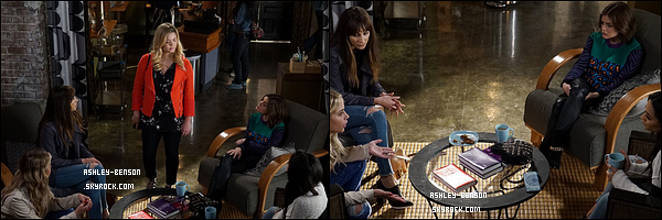 Voici les stills du 7x06 de Pretty Little Liars, intitulé Wanted : Dead or Alive.