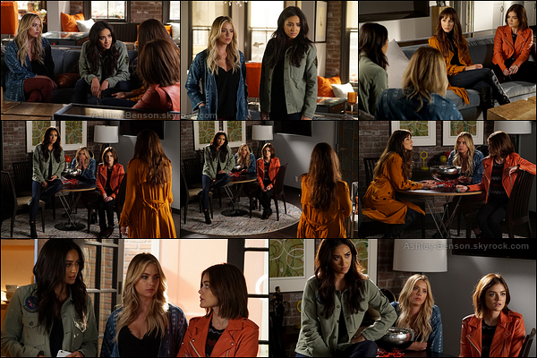 Voici les stills du 7x03 de Pretty Little Liars, intitulé The Talented Mr. Rollins.