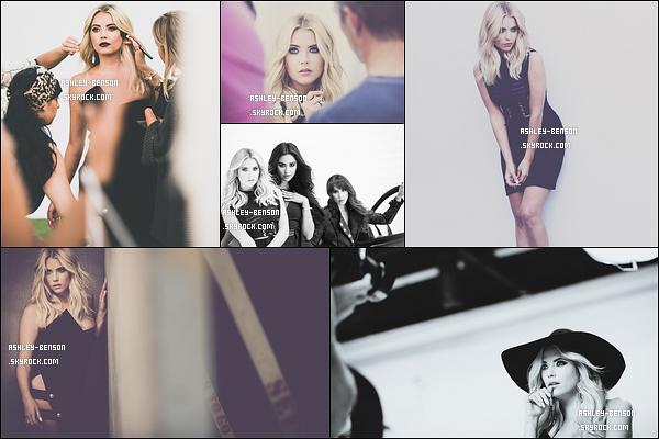 Découvrez les coulisses du photoshoot pour la nouvelle saison de Pretty Little Liars.